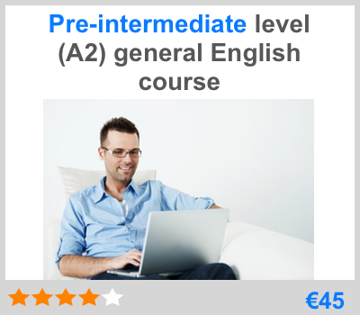 preíntermediate online English course