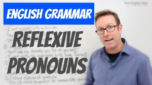 Using reflexive pronouns