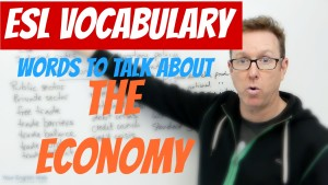 English vocabulary about the Economy