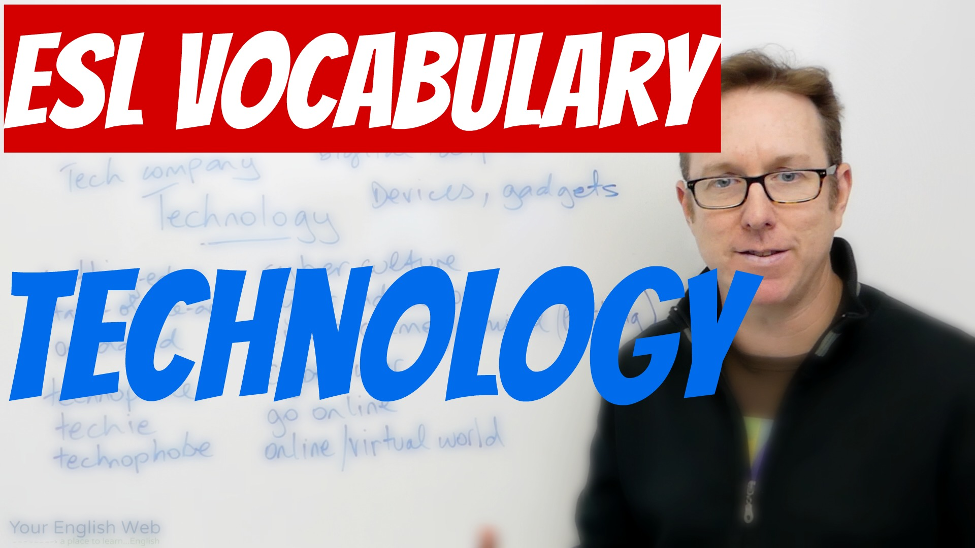 English words about technology