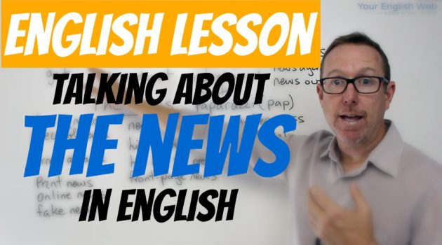How to talk about the news in English