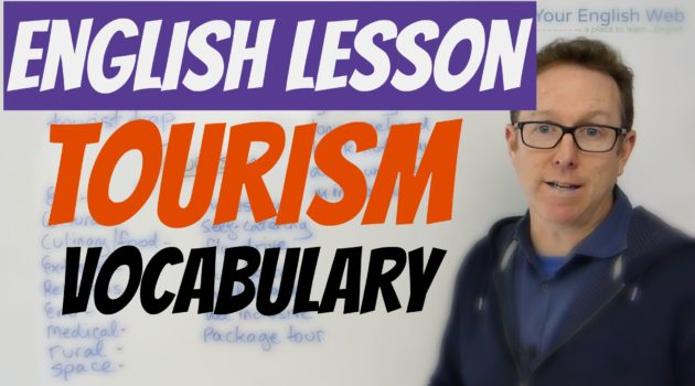 English words about tourism