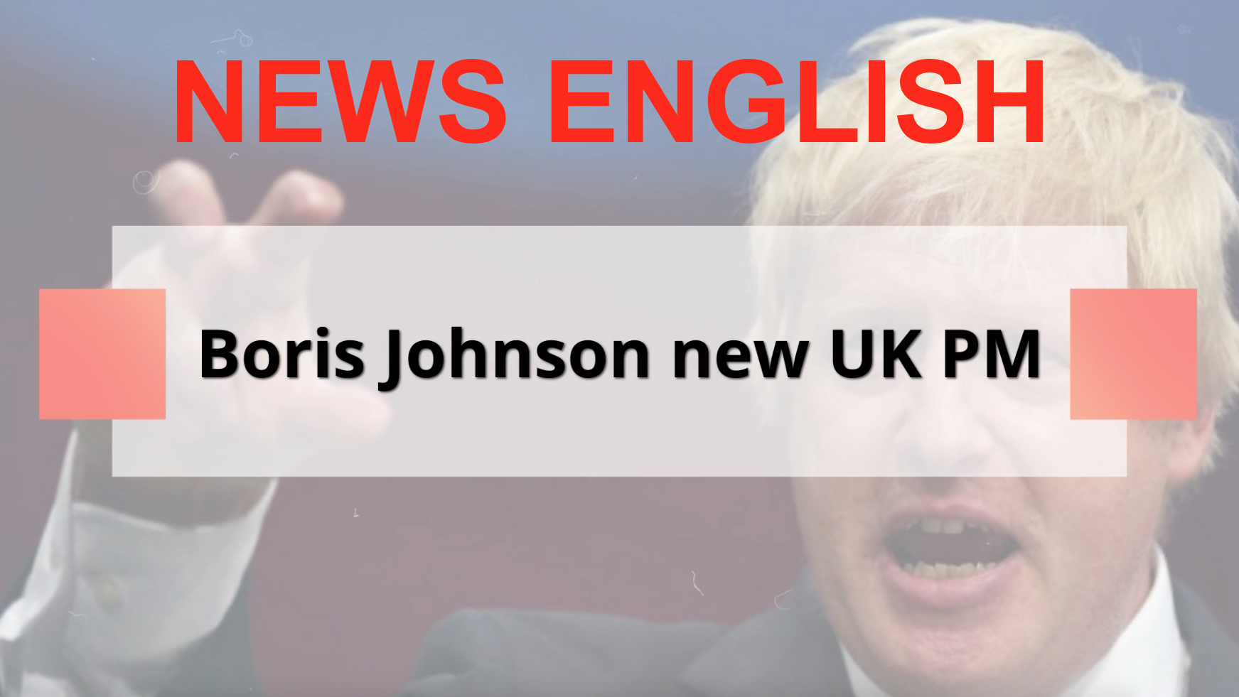 JOHNSON NEW UK PM