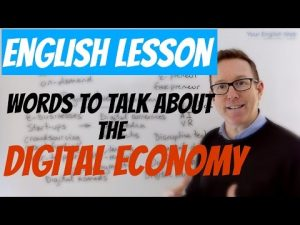 digital economy vocabulary