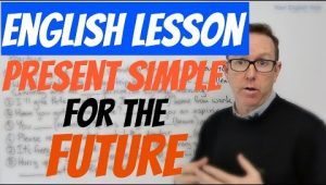 present simple future tense